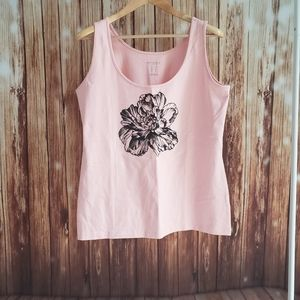Addition Elle Pink Tank Top NWT X/XL
